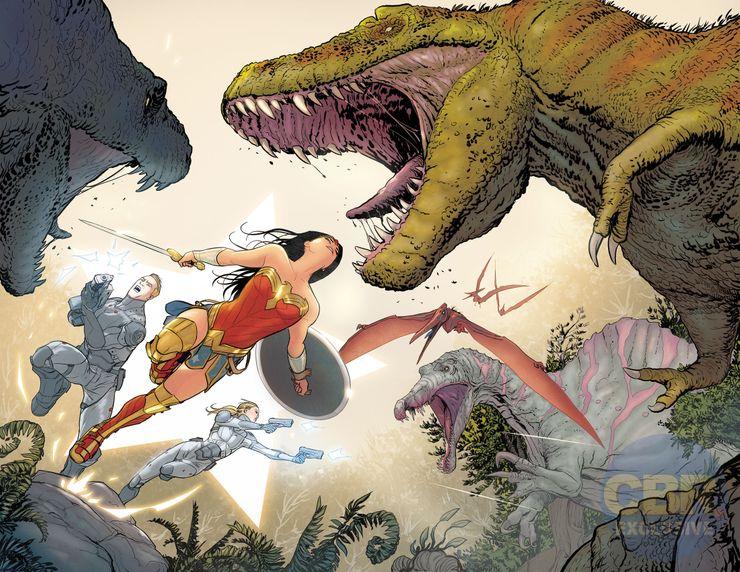 Wonder Woman : Mikel Janin et Jordie Bellaire présentent leurs premières pages 2