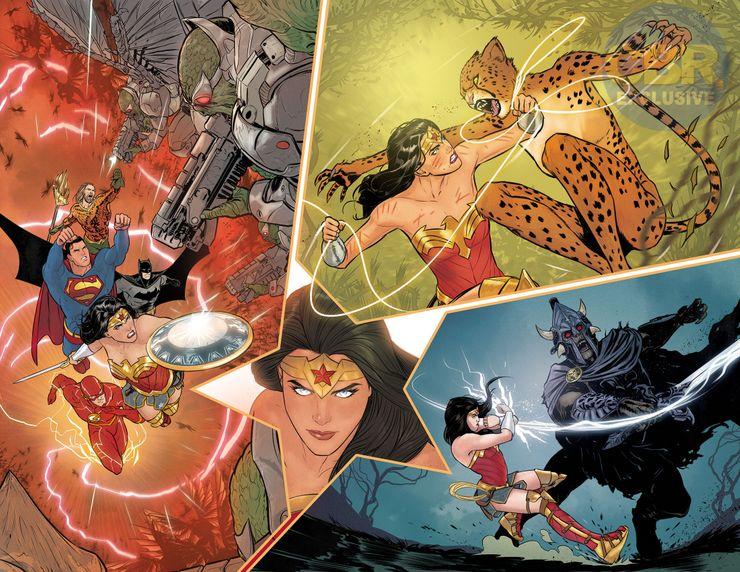 Wonder Woman : Mikel Janin et Jordie Bellaire présentent leurs premières pages 1