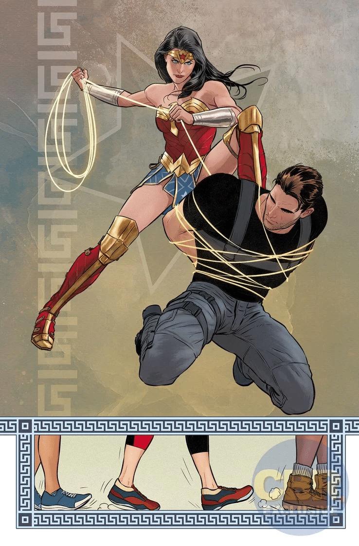 Wonder Woman : Mikel Janin et Jordie Bellaire présentent leurs premières pages 3