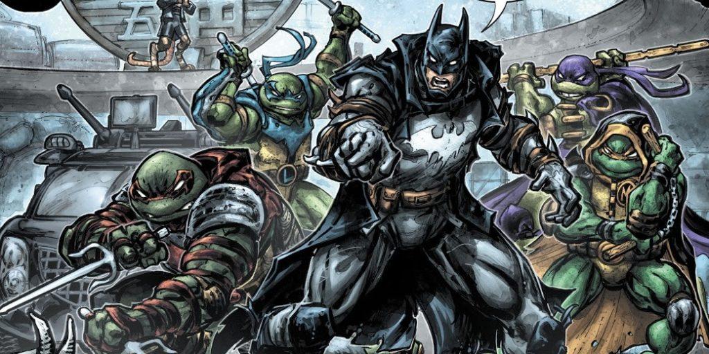 Batman et les tortues ensemble