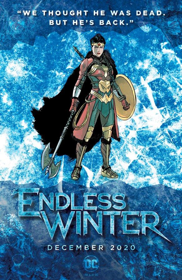 Wonder Woman Endless Winter