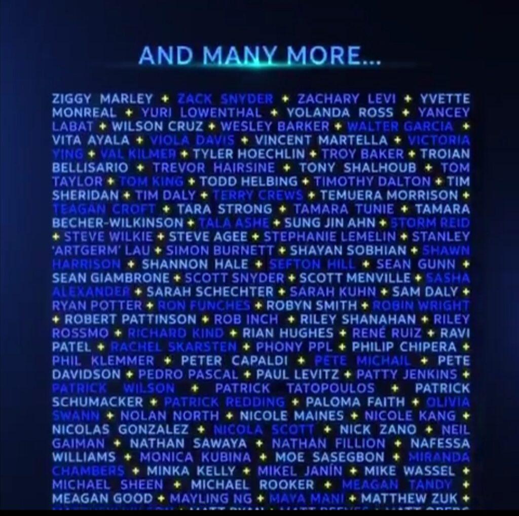 Une liste d'invités pour le DC Fandome 28