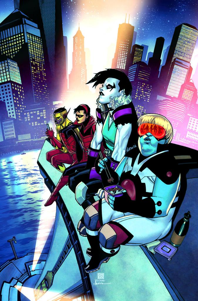 5 titres (Suicide Squad, Hawkman,...) s'arrêtent en novembre 35