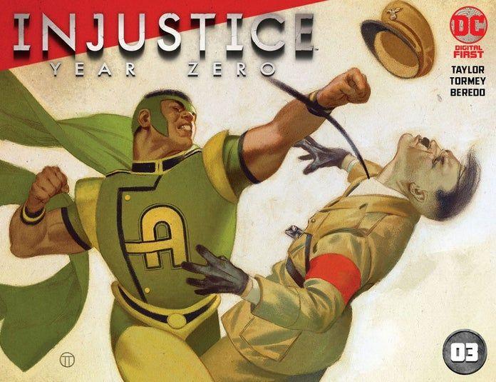 Injustice: Year Zero de Tom Taylor sera un Digital First 2