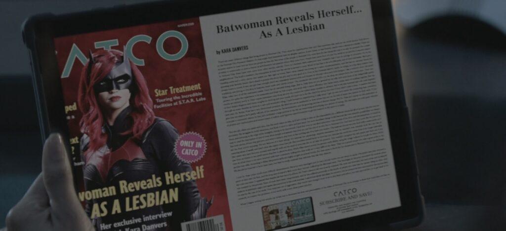 Batwoman révèle au monde son homosexualité