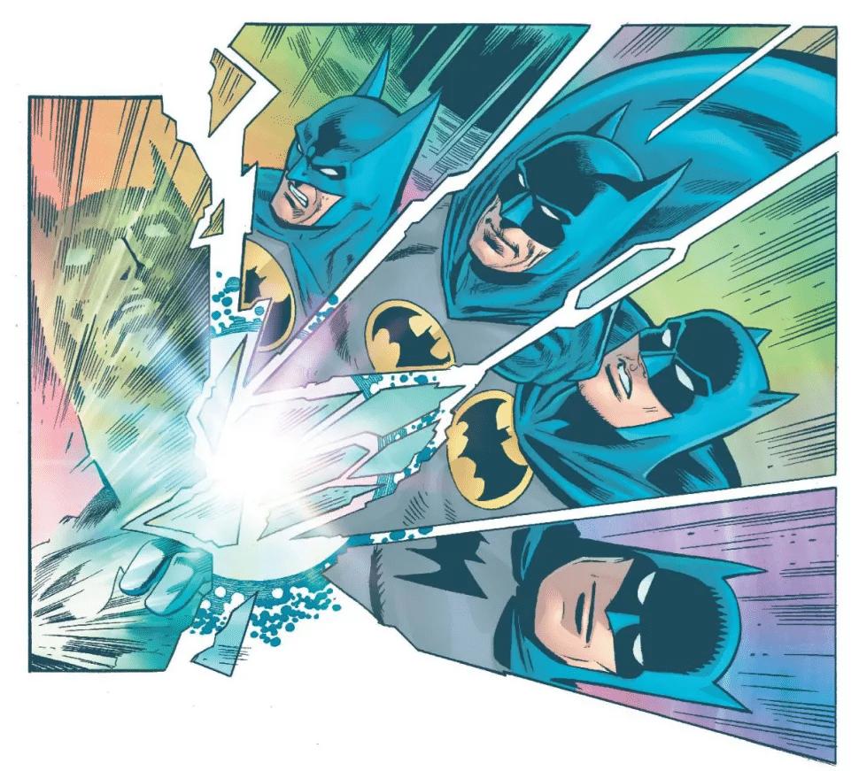 Generations revient sous la forme d'un one-shot avec le Batman du Golden Age 27