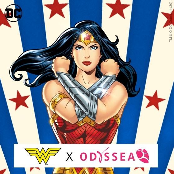 Course connectée Wonder Woman Odysséa