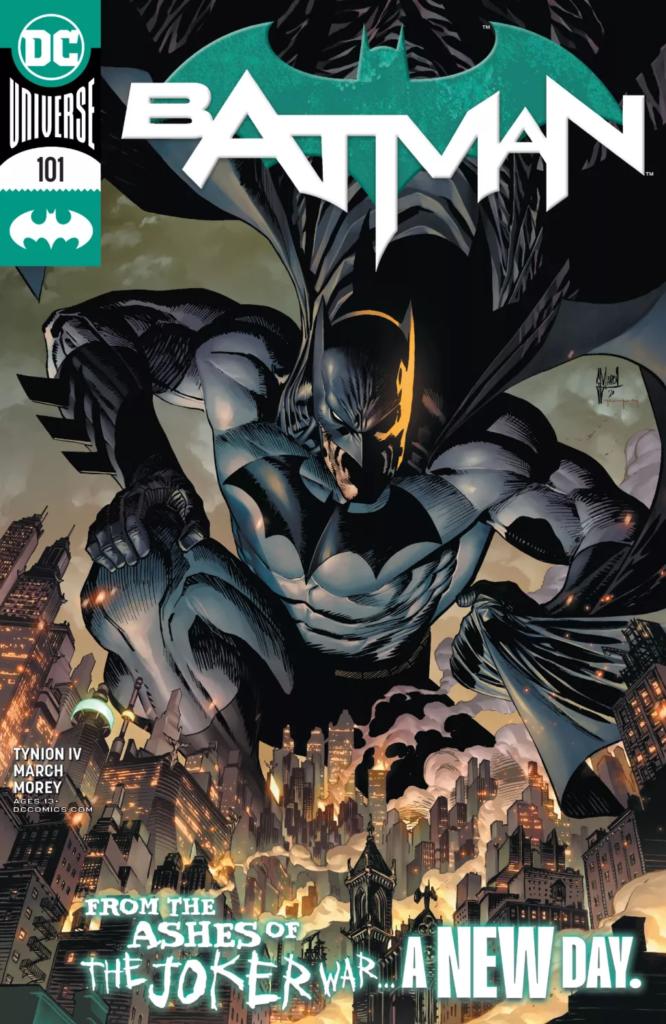 Preview VO - Batman #101, l'après Joker War 32