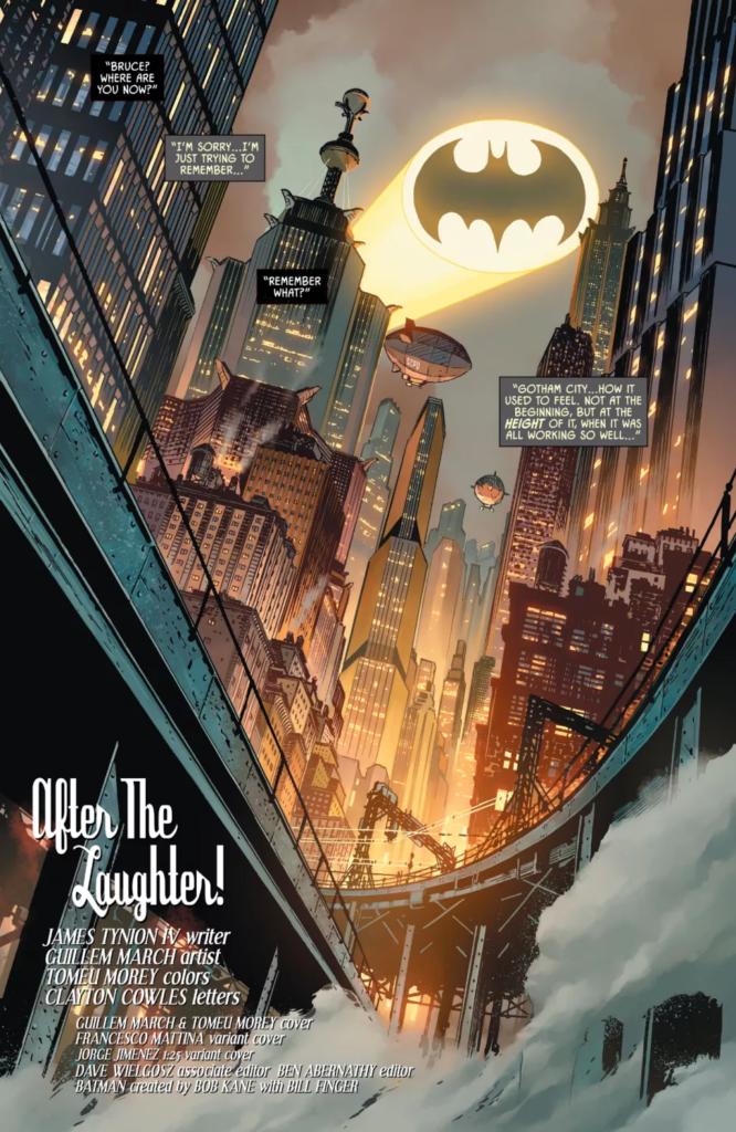 Preview VO - Batman #101, l'après Joker War 35