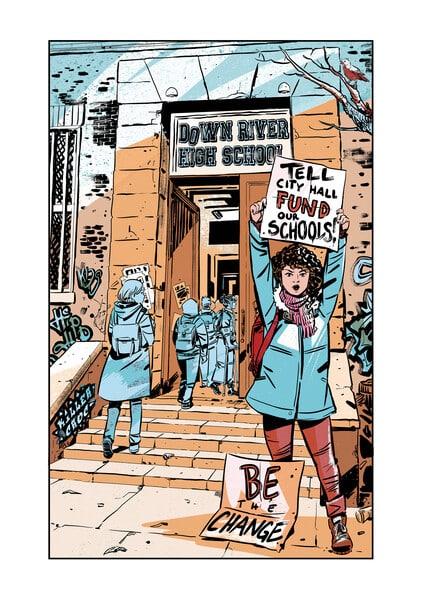 Whistle: A New Gotham City Hero, le prochain graphic novel de E. Lockhart sortira en mai 2021 33