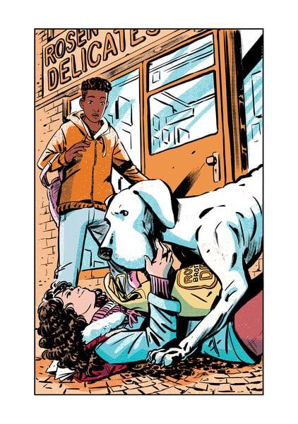 Whistle: A New Gotham City Hero, le prochain graphic novel de E. Lockhart sortira en mai 2021 34