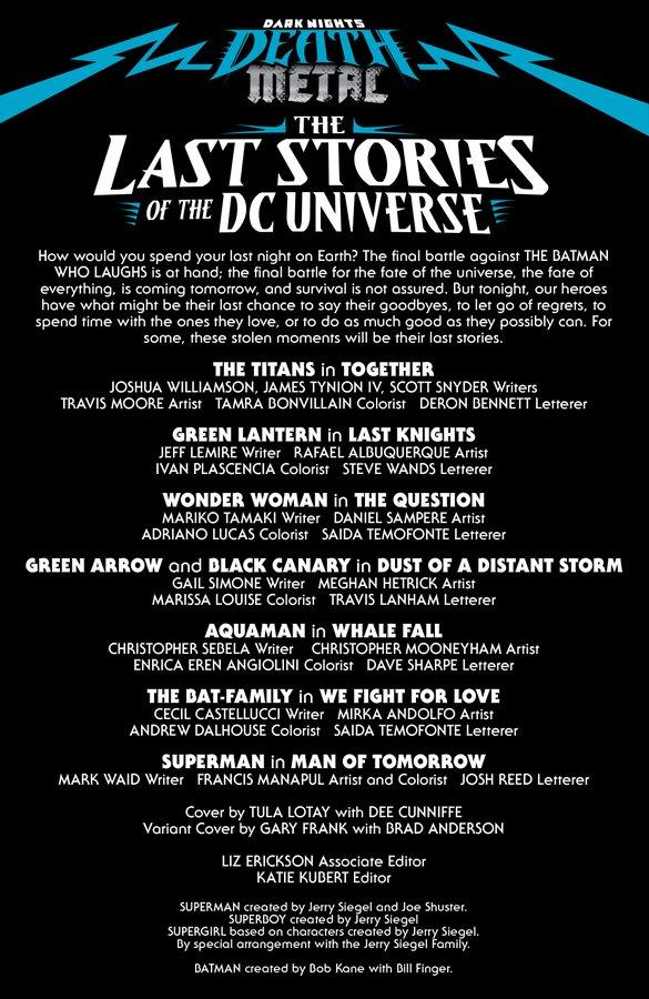 The Last Stories of the DC Universe dévoile son excellent lineup 35