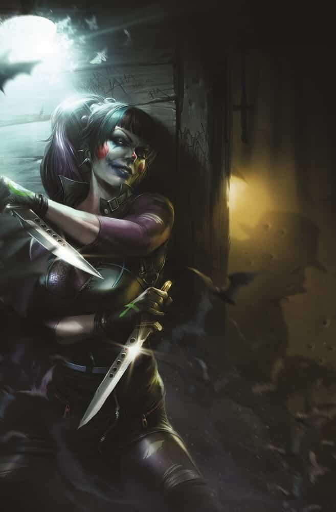 Le Joker a droit à son propre titre mensuel avec un backup sur Punchline 29