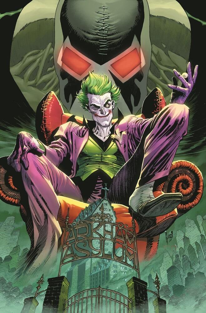 Le Joker a droit à son propre titre mensuel avec un backup sur Punchline 27