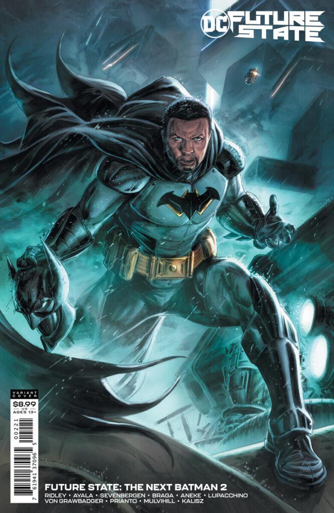 DC dévoile l'identité du Next Batman de Future State 27