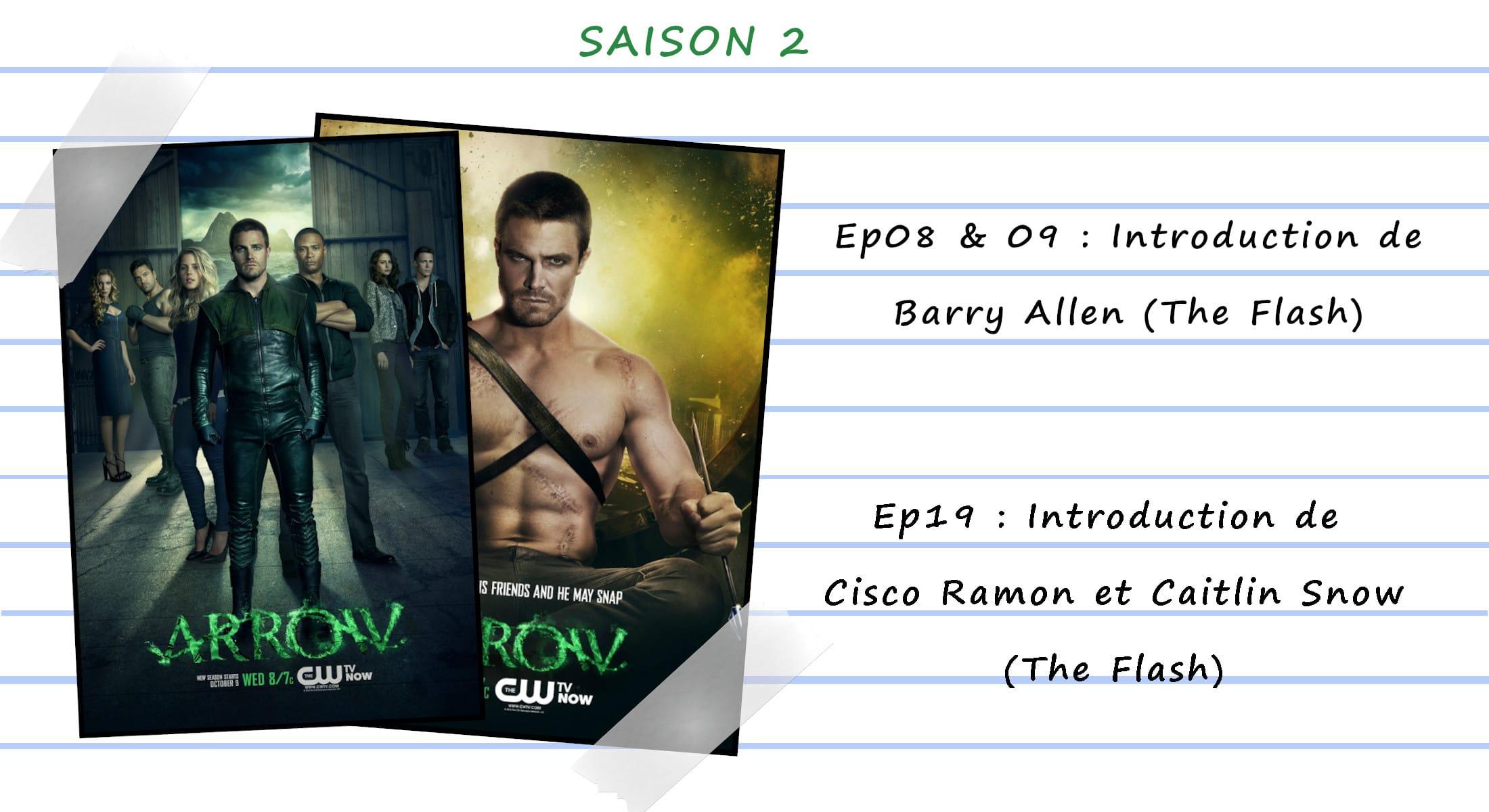 Guide de visionnage des séries CW 32