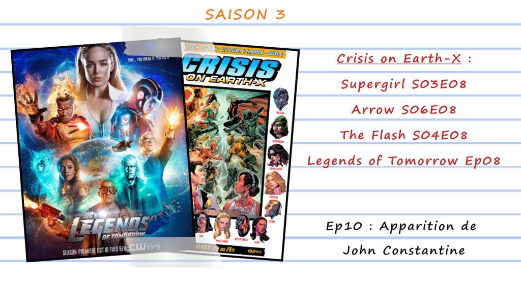 Guide de visionnage des séries CW 52