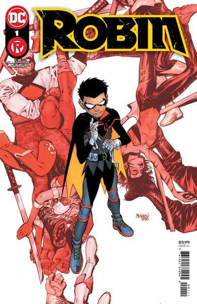 Damian arrive dans sa série régulière en avril 35