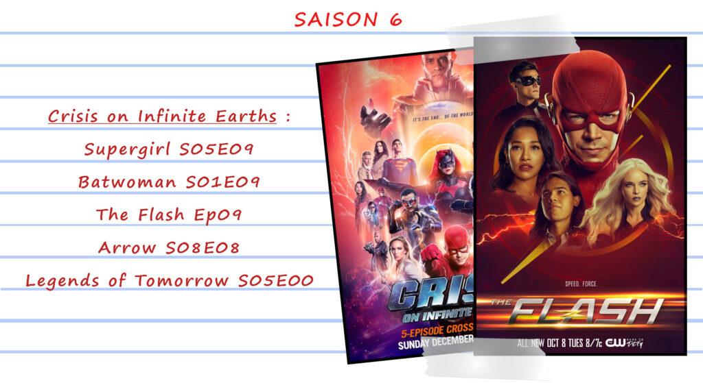 Guide de visionnage des séries CW 44