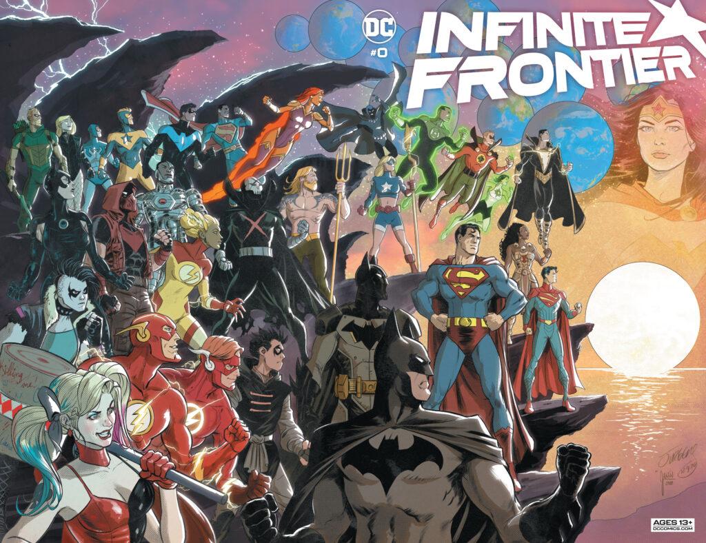 Découvrez les premières pages d'Infinite Frontier #0 34