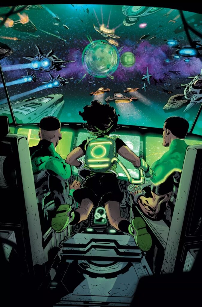 Découvrez les premières pages d'Infinite Frontier #0 44