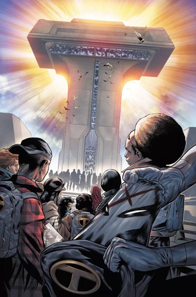 Découvrez les premières pages d'Infinite Frontier #0 46