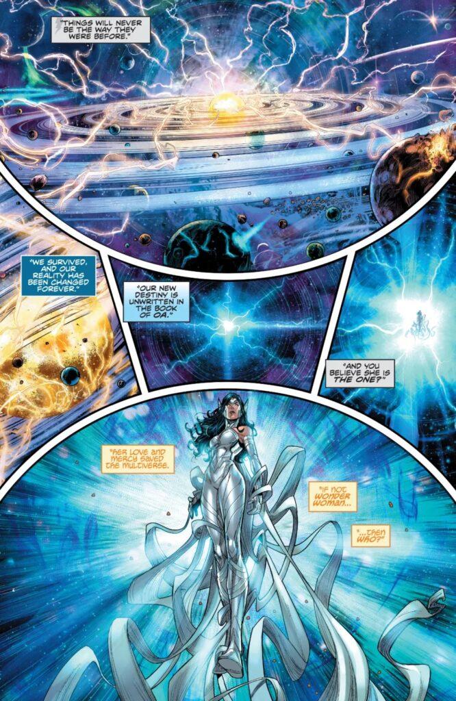 Découvrez les premières pages d'Infinite Frontier #0 36