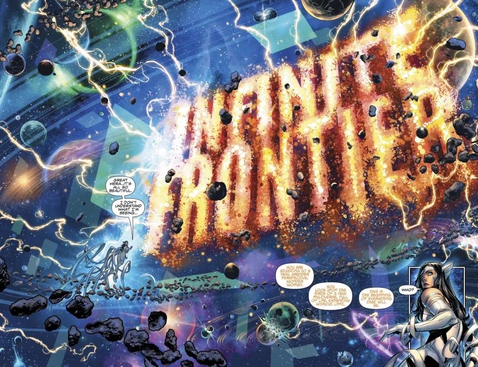 Découvrez les premières pages d'Infinite Frontier #0 37