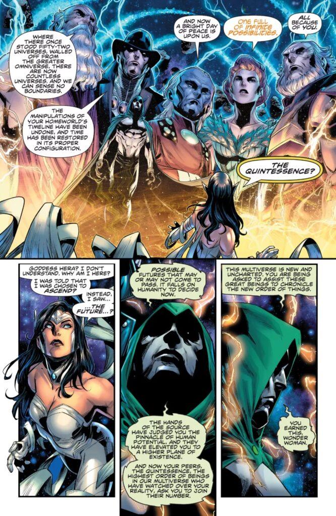 Découvrez les premières pages d'Infinite Frontier #0 38
