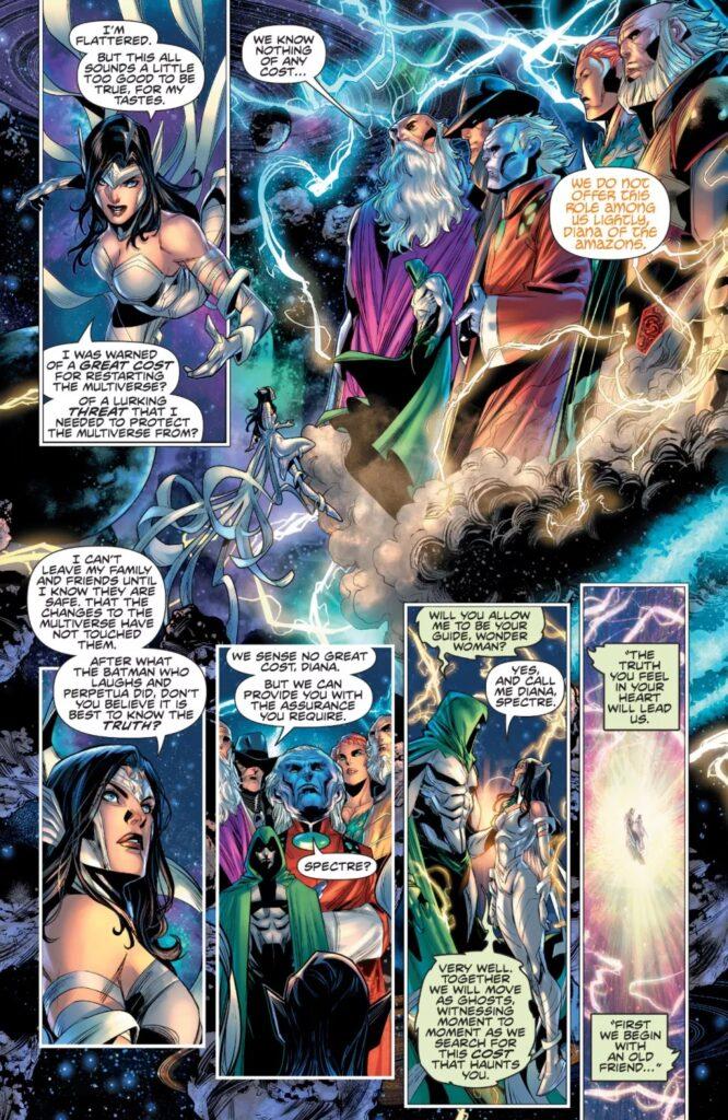 Découvrez les premières pages d'Infinite Frontier #0 39