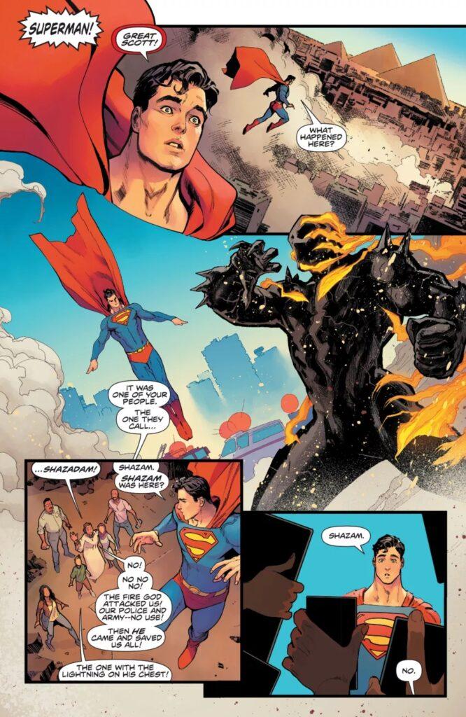 Découvrez les premières pages d'Infinite Frontier #0 40