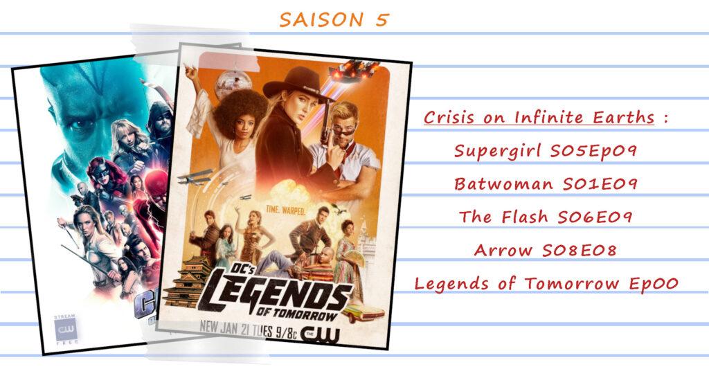 Guide de visionnage des séries CW 54