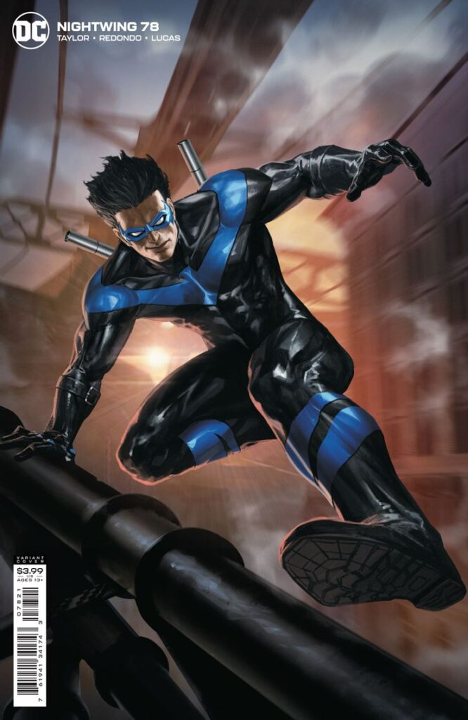 Voici les premières pages du Nightwing de Tom Taylor 38