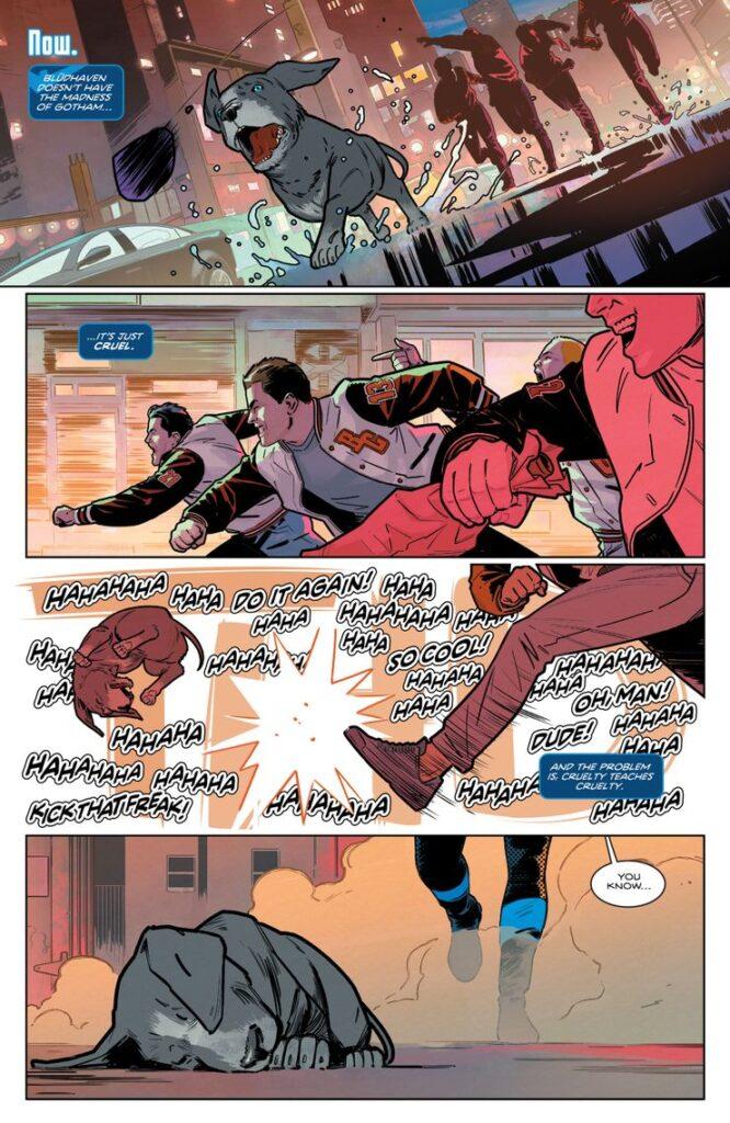 Voici les premières pages du Nightwing de Tom Taylor 35