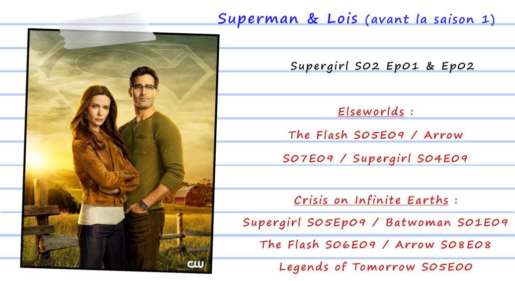 Guide de visionnage des séries CW 56