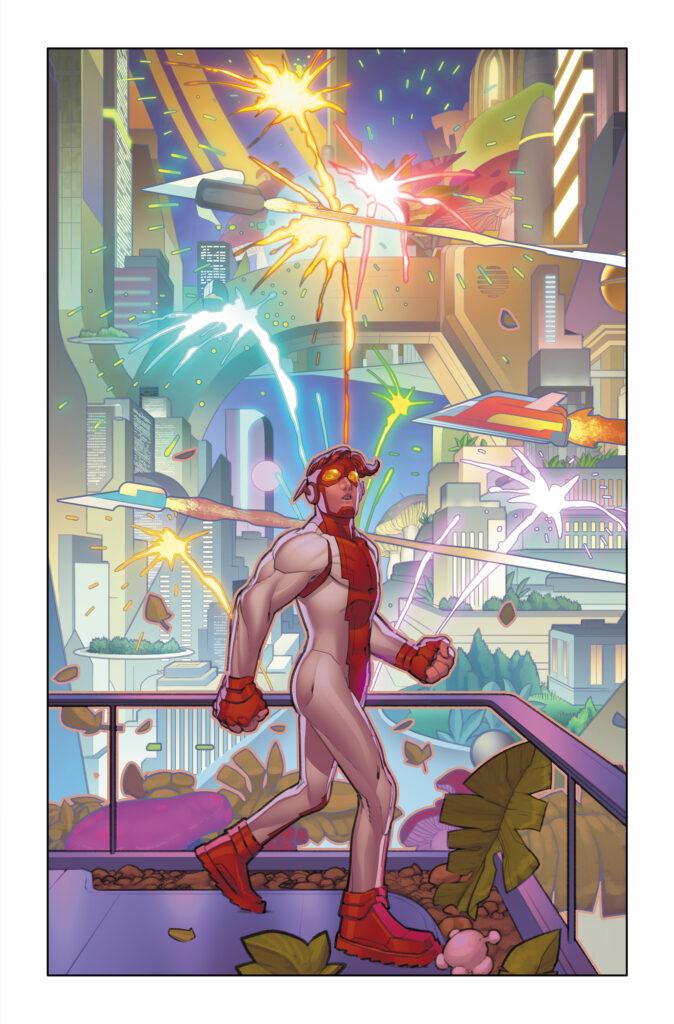 The Redemption of Wally West se révèle en quelques pages 38