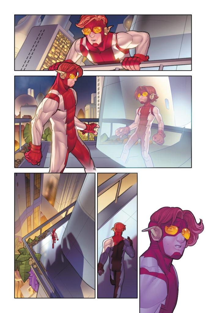 The Redemption of Wally West se révèle en quelques pages 39