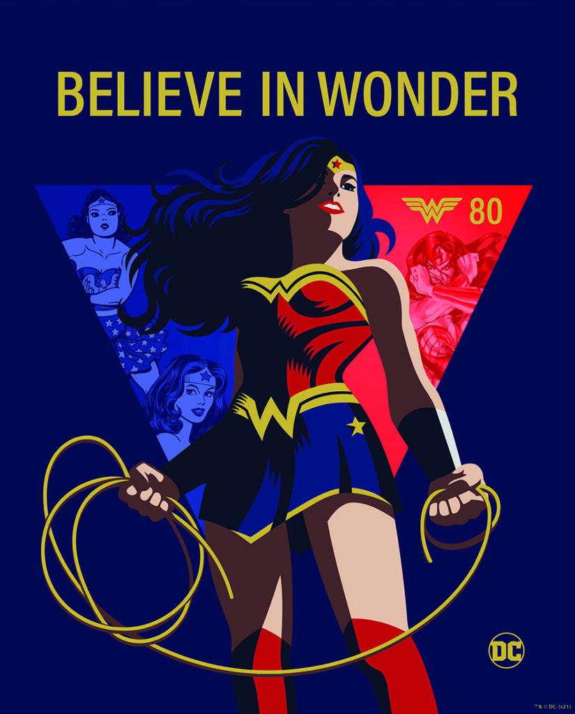 Voici comment DC compte célébrer les 80 ans de Wonder Woman 35