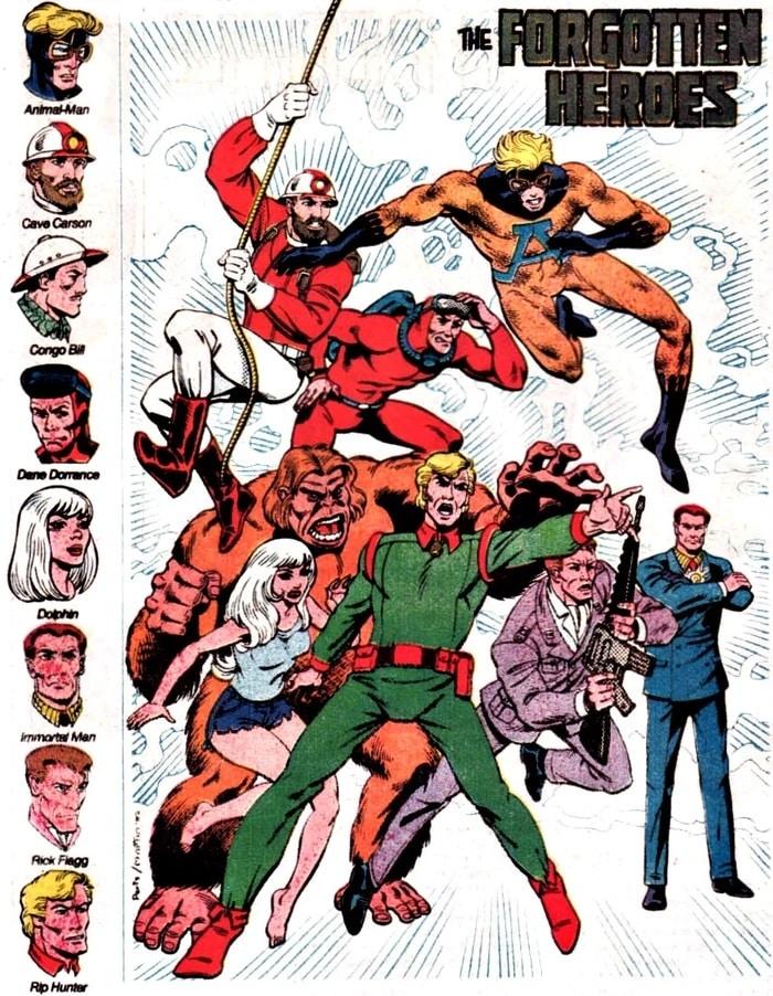 Dossier - Le futur dans l'univers DC 56