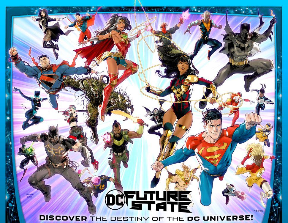 Dossier - Le futur dans l'univers DC 86