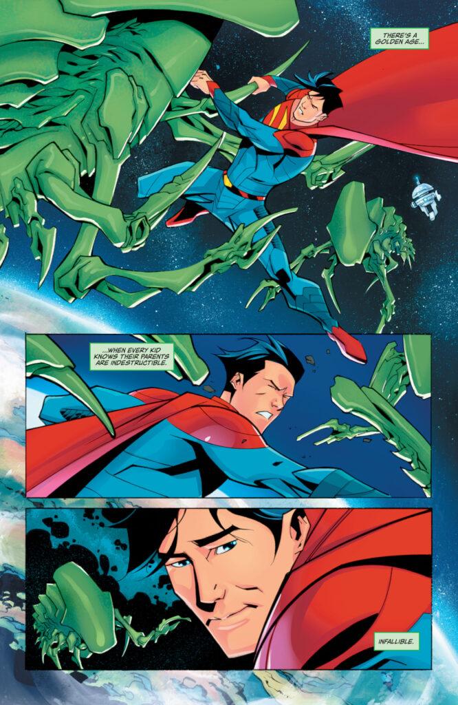 Découvrez les premières pages de Superman #29, le nouveau run de P.K. Johnson 35