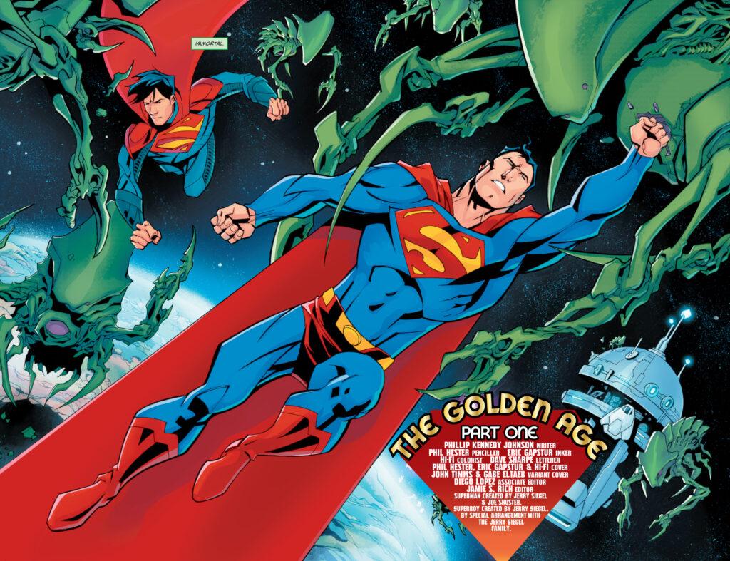 Découvrez les premières pages de Superman #29, le nouveau run de P.K. Johnson 36