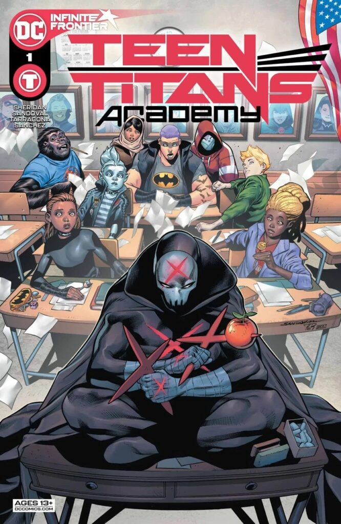 Preview VO - Teen Titans Academy #1 34