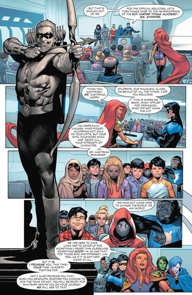 Preview VO - Teen Titans Academy #1 38