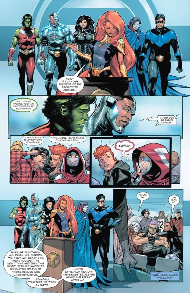 Preview VO - Teen Titans Academy #1 39