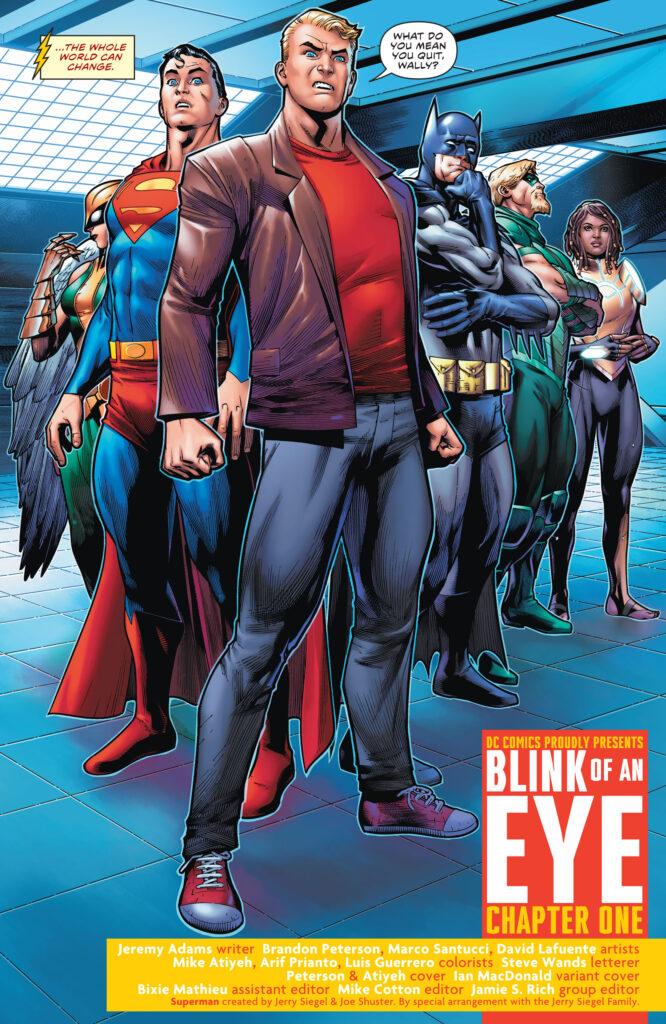 Wally West prend sa retraite en preview de The Flash #768 33