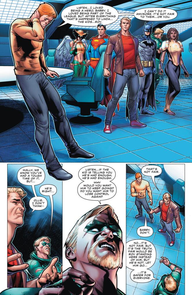 Wally West prend sa retraite en preview de The Flash #768 34