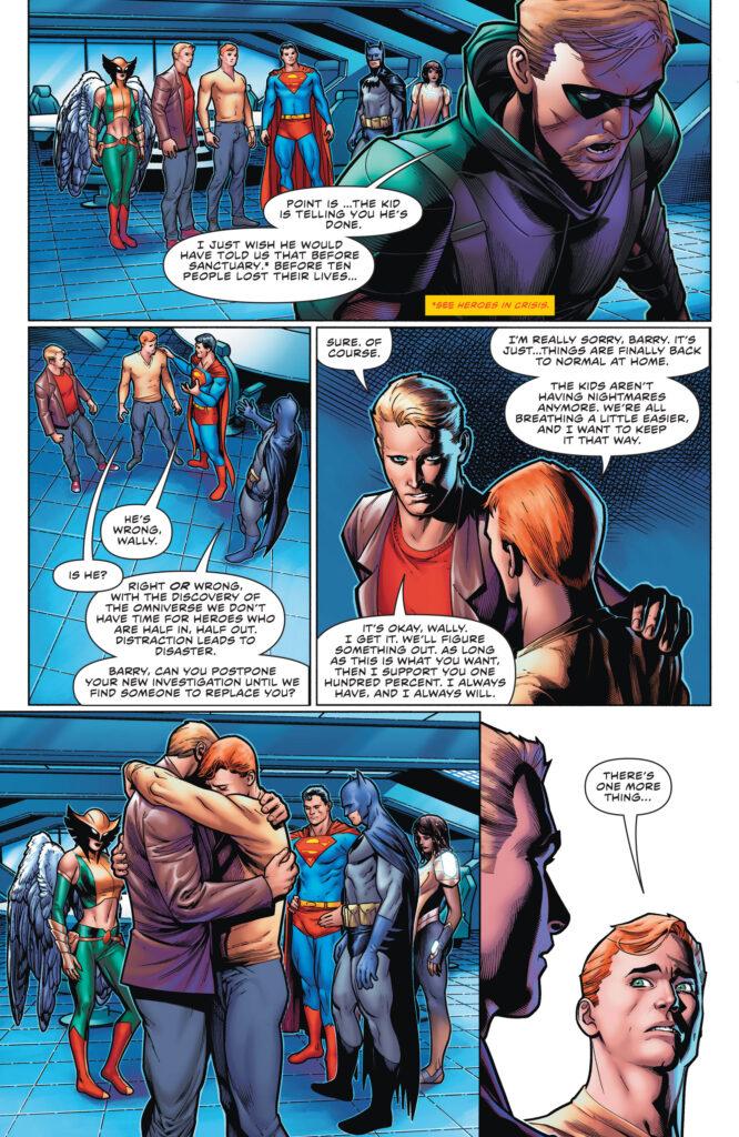 Wally West prend sa retraite en preview de The Flash #768 35