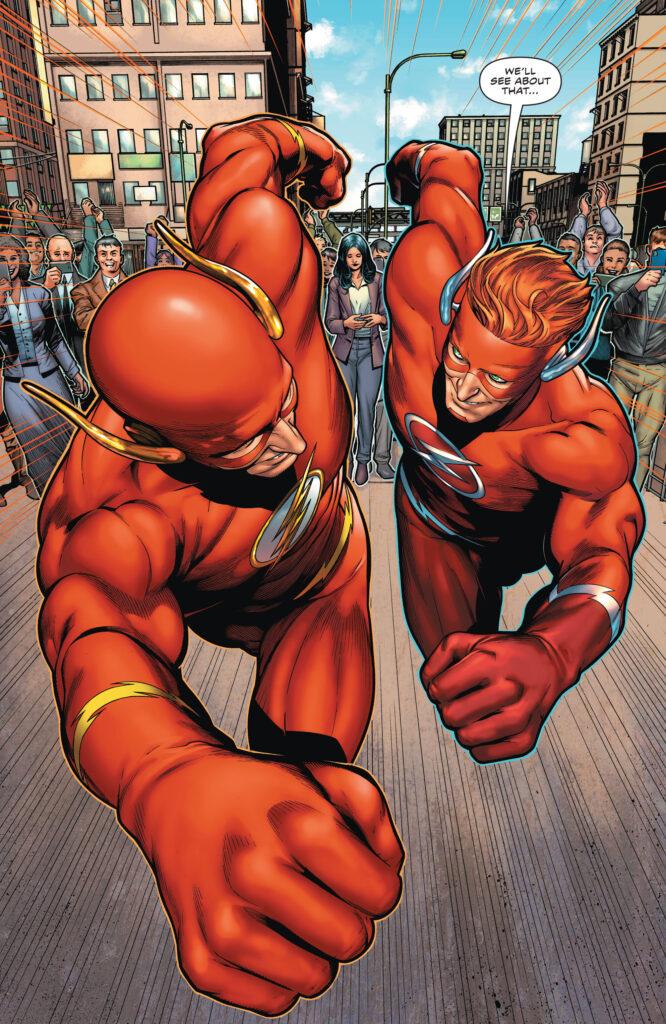 Wally West prend sa retraite en preview de The Flash #768 37