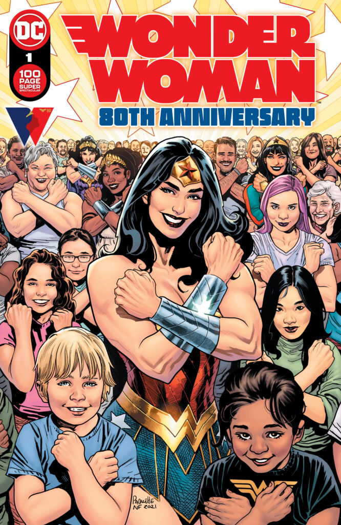 Cover Wonder Woman 80th Anniversary